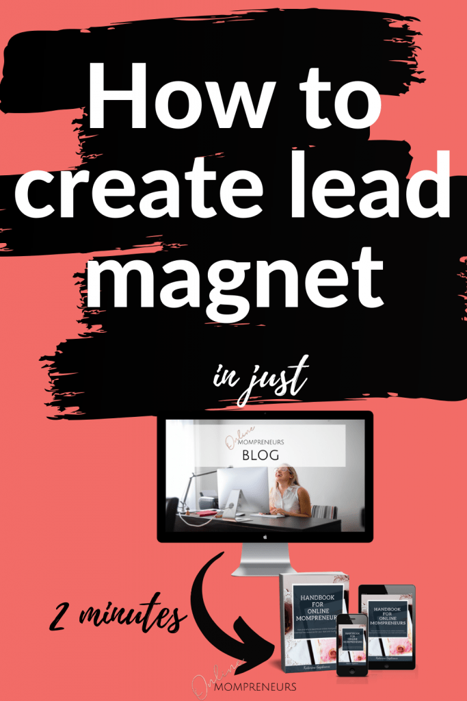Create lead magnet in 2 minutes